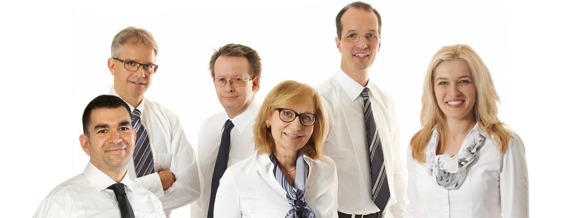 Majed Samak, Dr. Keil, Dr. Pantenburg, Dr. Putschögl, Prof. Dr. Wenzel, Dr. Paraforos
