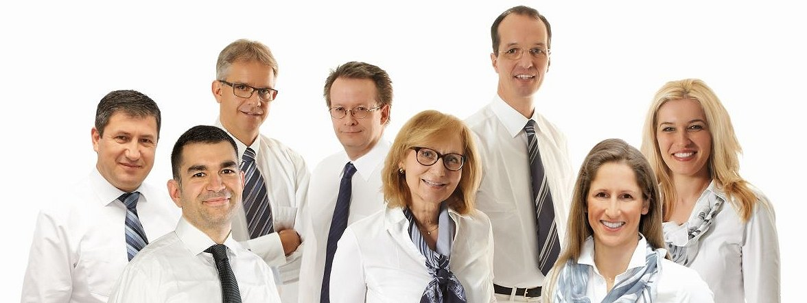 E. Mahmudi, Majed Samak, Dr. Keil, Dr. Pantenburg, Dr. Putschögl, Prof. Dr. Wenzel, Dr. Zywien, Dr. Paraforos