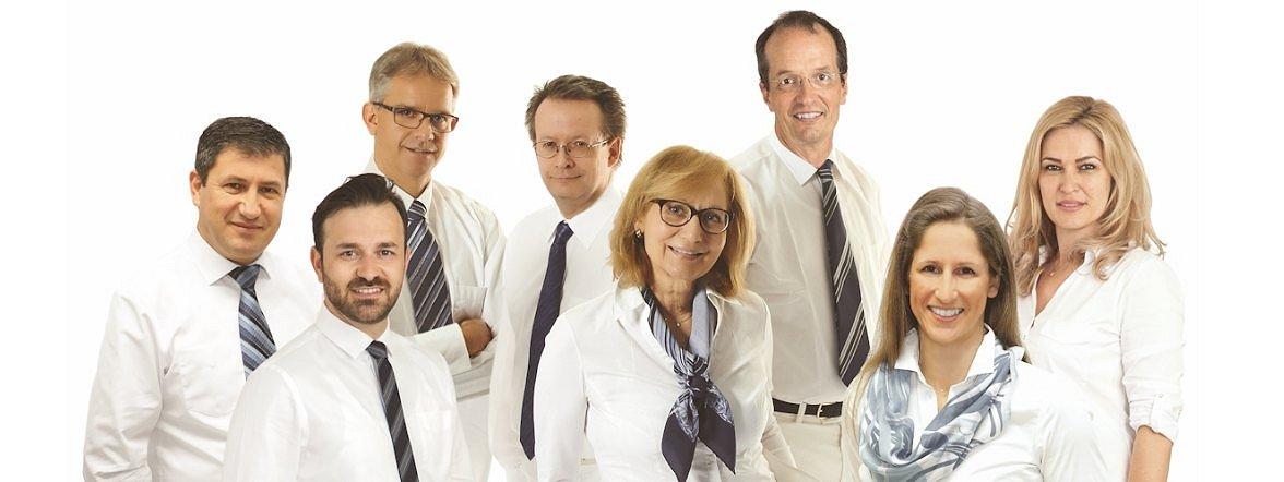 E. Mahmudi, A. Salim, Dr. Keil, Dr. Pantenburg, Dr. Putschögl, Prof. Dr. Wenzel, dr. Zywien FEBO, Dr. Paraforos